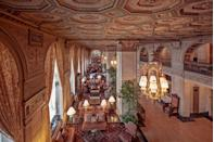 "<p>This English Renaissance-style hotel is known for being the home of the famed Hot Brown sandwich and host to many distinguished guests throughout its long history. No time is better for people-watching at this Louisville hot spot than during the <a href=""https://www.elledecor.com/life-culture/travel/a7310/7-thing-you-didnt-know-about-the-kentucky/"" rel=""nofollow noopener"" target=""_blank"" data-ylk=""slk:Kentucky Derby"" class=""link rapid-noclick-resp"">Kentucky Derby</a>. <br></p><p><strong>EXPLORE NOW</strong>: <a href=""https://www.tripadvisor.com/Hotel_Review-g39604-d88855-Reviews-The_Brown_Hotel-Louisville_Kentucky.html"" rel=""nofollow noopener"" target=""_blank"" data-ylk=""slk:The Brown Hotel"" class=""link rapid-noclick-resp"">The Brown Hotel</a></p>"
