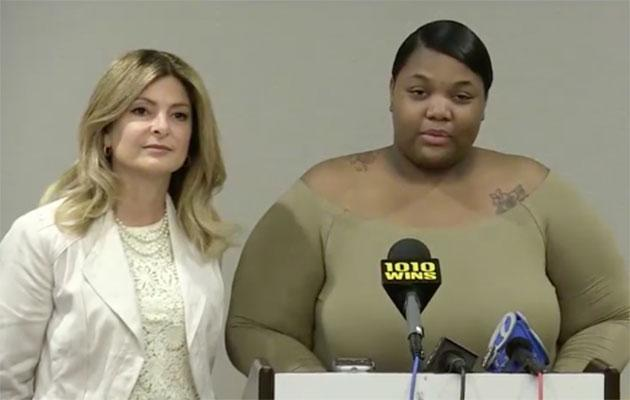 Quantasia Sharpton claims he exposed her to herpes