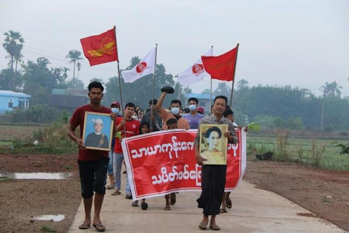 The country has been in turmoil since the military detained deposed leader Aung San Suu Kyi and seized power, triggering a massive uprising that the junta has sought to quell with lethal force
