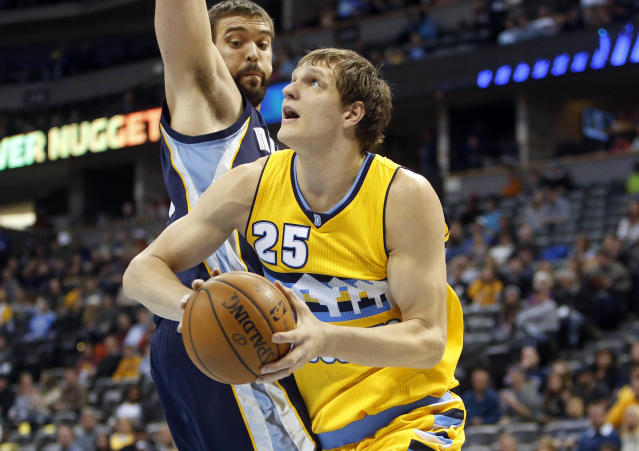 Sources: Cavs acquire Timofey Mozgov from Nuggets