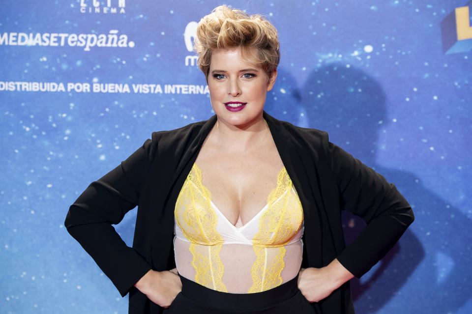 Tania Llasera attends to 'Superlopez' premiere at Capitol Cinemas in Madrid, Spain. November 21, 2018. (Photo by BorjaB.Hojas/COOLMedia/NurPhoto via Getty Images)