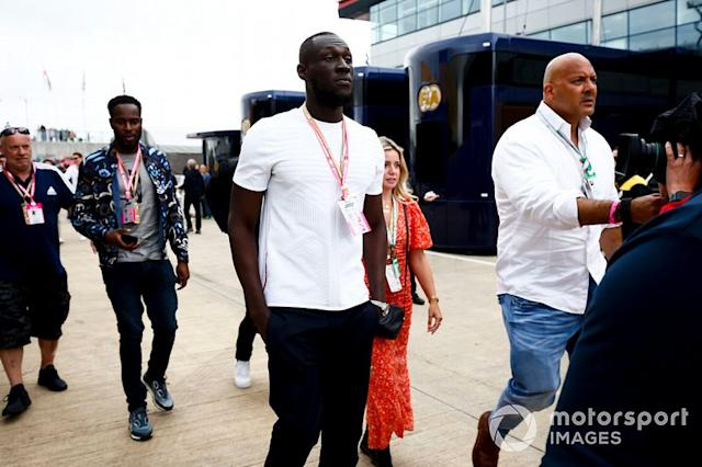 "Rapper Stormzy <span class=""copyright"">Andy Hone / LAT Images</span>"