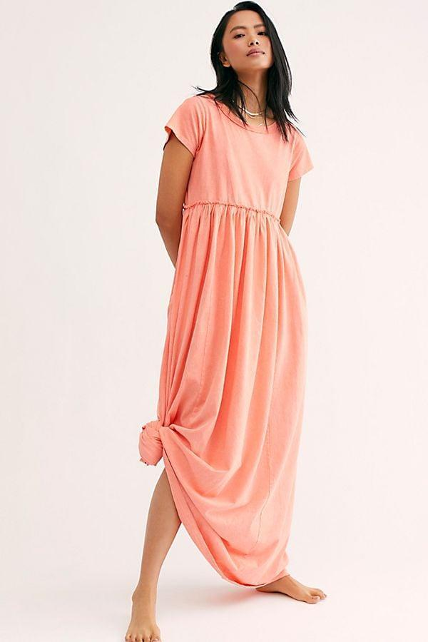 "<p>We like the coral shade of this <a href=""https://www.popsugar.com/buy/Carissa-Tee-Dress-568668?p_name=Carissa%20Tee%20Dress&retailer=freepeople.com&pid=568668&price=98&evar1=fab%3Aus&evar9=47495570&evar98=https%3A%2F%2Fwww.popsugar.com%2Fphoto-gallery%2F47495570%2Fimage%2F47495736%2FCarissa-Tee-Dress&list1=shopping%2Cdresses%2Csummer%20fashion%2Cfashion%20shopping&prop13=api&pdata=1"" class=""link rapid-noclick-resp"" rel=""nofollow noopener"" target=""_blank"" data-ylk=""slk:Carissa Tee Dress"">Carissa Tee Dress</a> ($98).</p>"