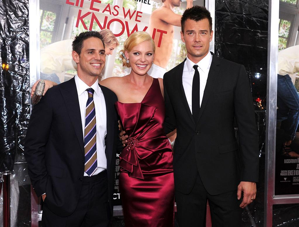 "<a href=""http://movies.yahoo.com/movie/contributor/1800354548"">Greg Berlanti</a>, <a href=""http://movies.yahoo.com/movie/contributor/1800018759"">Katherine Heigl</a> and <a href=""http://movies.yahoo.com/movie/contributor/1804581818"">Josh Duhamel</a> at the New York City premiere of <a href=""http://movies.yahoo.com/movie/1810126237/info"">Life as We Know It</a> on September 30, 2010."
