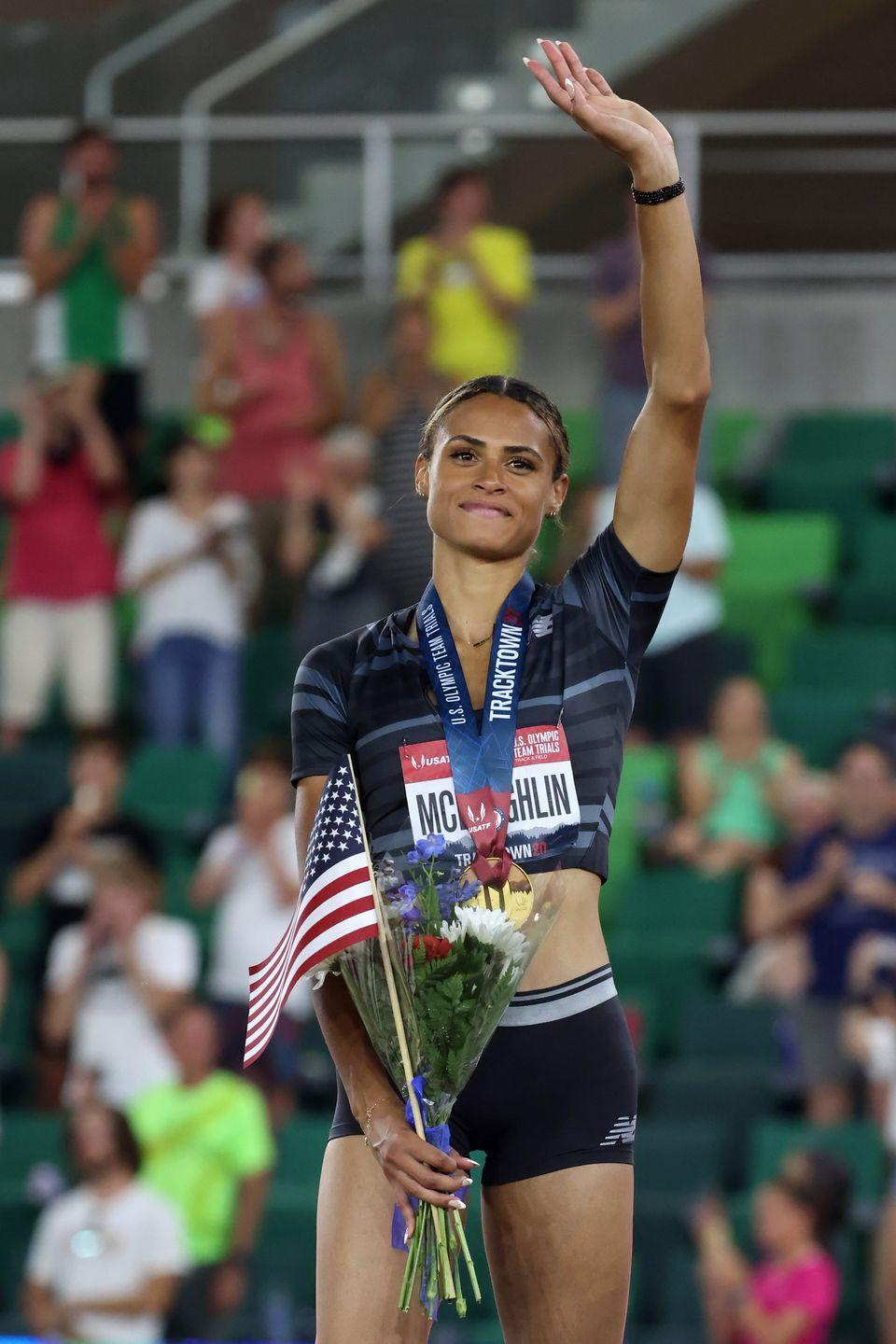 <p><strong>Sport: </strong>Track & Field</p><p>During June's Olympic Trials, McLaughlin broke the world record in the women's 400m hurdles at 51.90 seconds. She is the first woman to run the event in less than 52 seconds. Tokyo is the runner's second Olympics. In 2016, at the age of 16, she was the youngest athlete on the U.S. track and field team.</p>
