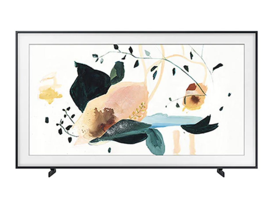 "Samsung LSO3T 75"" The Frame 4K QLED Smart TV, The Source, $2,800 (originally $4,000)."