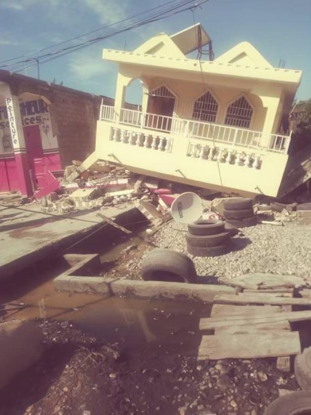 The earthquake in Haiti hit on the weekend. Loved ones in northern Ontario are waiting word on survivors and working to provide help. (Supplied by Bernadine Pierre Louis - image credit)
