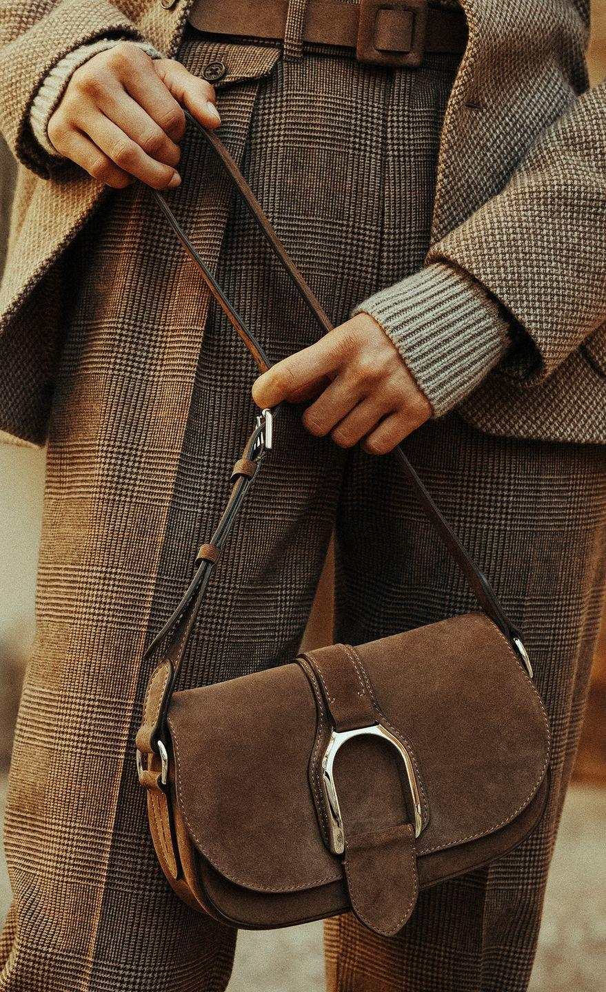 """<p><strong>Who: </strong>Ralph Lauren </p><p><strong>What: </strong>The Welington accessory collection </p><p><strong>Where:</strong> Online at <a href=""""https://go.redirectingat.com?id=74968X1596630&url=https%3A%2F%2Fwww.ralphlauren.com%2F&sref=https%3A%2F%2Fwww.elle.com%2Ffashion%2Fshopping%2Fg37500051%2Fthe-launch-septembers-hottest-fashion-launches%2F"""" rel=""""nofollow noopener"""" target=""""_blank"""" data-ylk=""""slk:ralphlauren.com"""" class=""""link rapid-noclick-resp"""">ralphlauren.com</a> and in Ralph Lauren stores worldwide</p><p><strong>Why:</strong> Icon of American style Ralph Lauren pulls inspiration from the timelessness of equestrian saddlery to create the Welington collection: a series of handbags, shoes, belts, small leather goods, watches, and jewelry that feature an instantly recognizable stirrup motif. Lauren gave the classic riding boot a contemporary edge, shortening its shaft height to make it a more wearable bootie. The sensible yet stylish block heel and almond-shaped toe render it a must-have for the fall season. Bonus: the brass stirrup on the outer ankle ensures this shoe is just as suited for the racetrack as it is the city street.</p><p><a class=""""link rapid-noclick-resp"""" href=""""https://go.redirectingat.com?id=74968X1596630&url=https%3A%2F%2Fwww.ralphlauren.com%2Fralph-lauren-collection-welington-cg%3Fwebcat%3Dwomen%257Cfeatured%257CCollection%2BWelington%26orignalCatID%3Dralph-lauren-collection-welington-rd%26altrurlID%3Dralph-lauren-collection-welington-rd&sref=https%3A%2F%2Fwww.elle.com%2Ffashion%2Fshopping%2Fg37500051%2Fthe-launch-septembers-hottest-fashion-launches%2F"""" rel=""""nofollow noopener"""" target=""""_blank"""" data-ylk=""""slk:SHOP NOW"""">SHOP NOW</a></p>"""