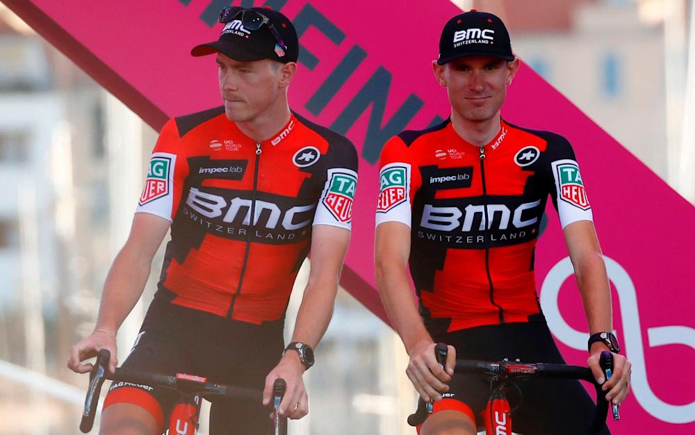 Rohan Dennis and Tejay van Garderen - Credit: Getty Images