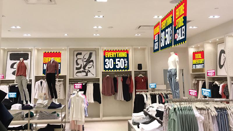 Select Ann Taylor, LOFT, and Lou & Grey stores in the U.S. and Canada have commenced Store Closing Sales