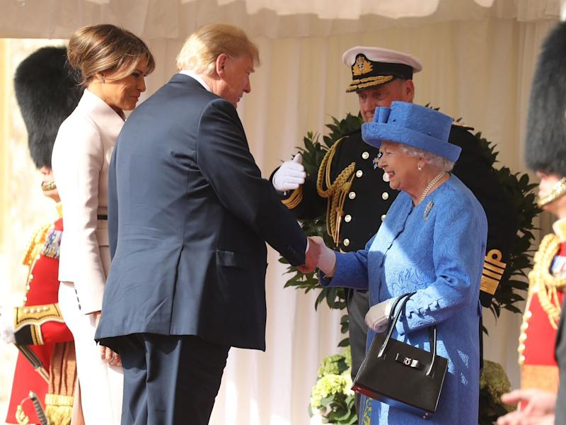 British princes refused to meet with trump media