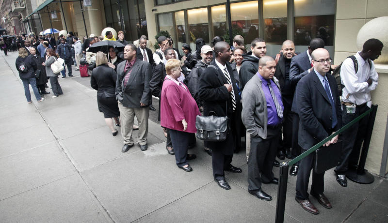 Unemployment falls in 75 percent of US states