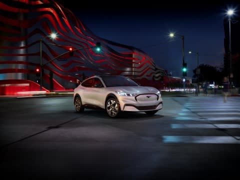 Ford Mustang Expands Family: All-Electric Mustang Mach-E Delivers Power, Style and Freedom for New Generation