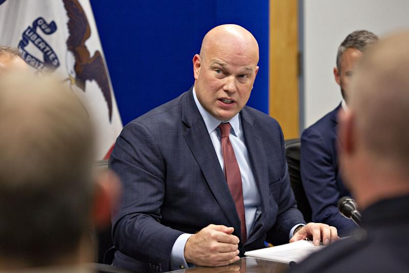 Whitaker Goes From Humdrum Iowa Cases to Trump Attorney General