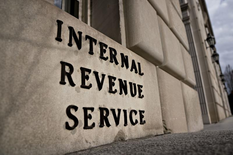 The Internal Revenue Service (IRS) headquarters stands in Washington, D.C., U.S., on Tuesday, Jan. 8, 2019. The IRS will issue refunds to taxpayers even if the U.S. government shutdown extends into the filing season, a decision that may reduce political pressure on Congress and President Donald Trump to reach a deal to reopen the federal government. Photographer: Andrew Harrer/Bloomberg via Getty Images