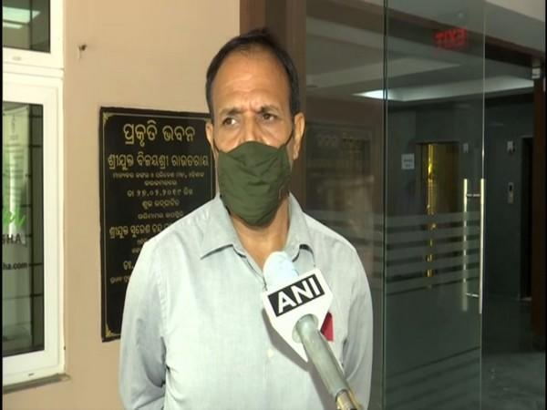 Hari Shankar Upadhyay, Principal Chief Conservator of Forests and Chief Wildlife Warden. (Photo/ANI)