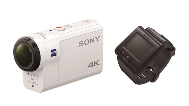 Sony FDR X3000R action camera has built in mechanical stabilisation
