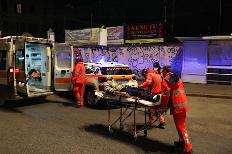 Italy continues its nationwide lockdown with a reported 793 deaths on Saturday but a drop to 651 so far on Sunday due to COVID-19. Source: Getty