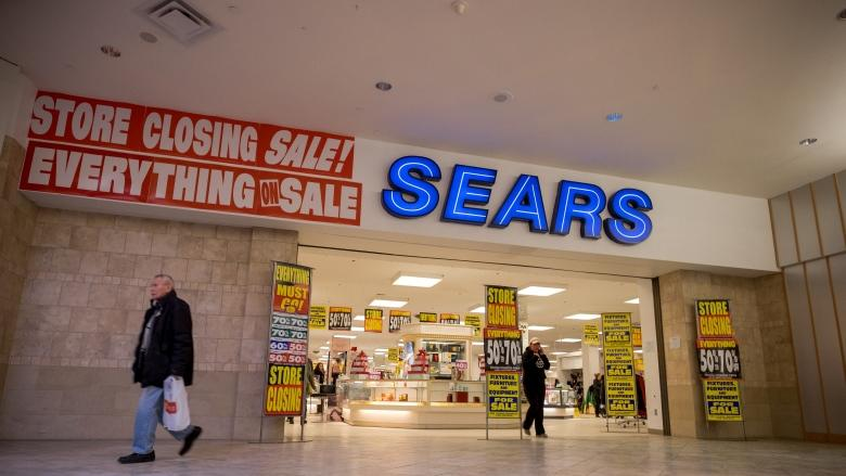Final Sears Canada stores shuttered for good