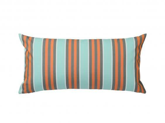 Brightly coloured cushions are an instant update both indoors and outdoors (Ikea)