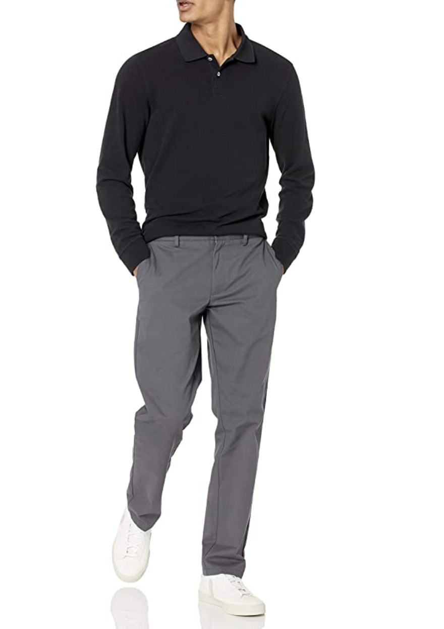 Amazon Essentials Slim-Fit Wrinkle-Resistant Chinos.
