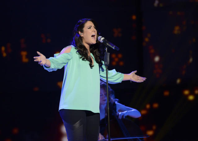 "Kree Harrison performs ""What the World Needs Now Is Love"" on the Wednesday, April 10 episode of ""American Idol."""