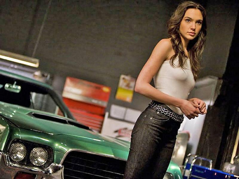 Gal Gadot as Gisele in 2011's 'Fast Five' (credit: Universal)