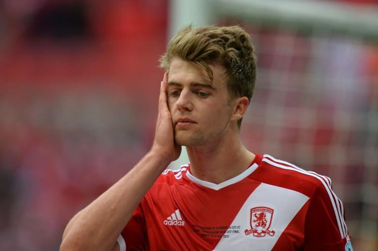 Chelsea striker Patrick Bamford has previously been loaned out to Milton Keynes Dons, Derby County, Middlesbrough (pictured), Crystal Palace and Norwich City