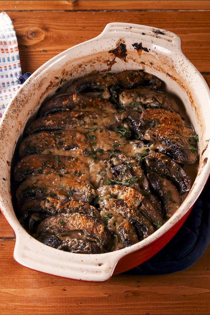 "<p>This rich dish could be a satisfying side or even a light dinner. </p><p>Get the recipe from <a href=""https://www.delish.com/cooking/recipe-ideas/a30429965/scalloped-portobello-mushrooms-recipe/"" rel=""nofollow noopener"" target=""_blank"" data-ylk=""slk:Delish."" class=""link rapid-noclick-resp"">Delish.</a></p>"