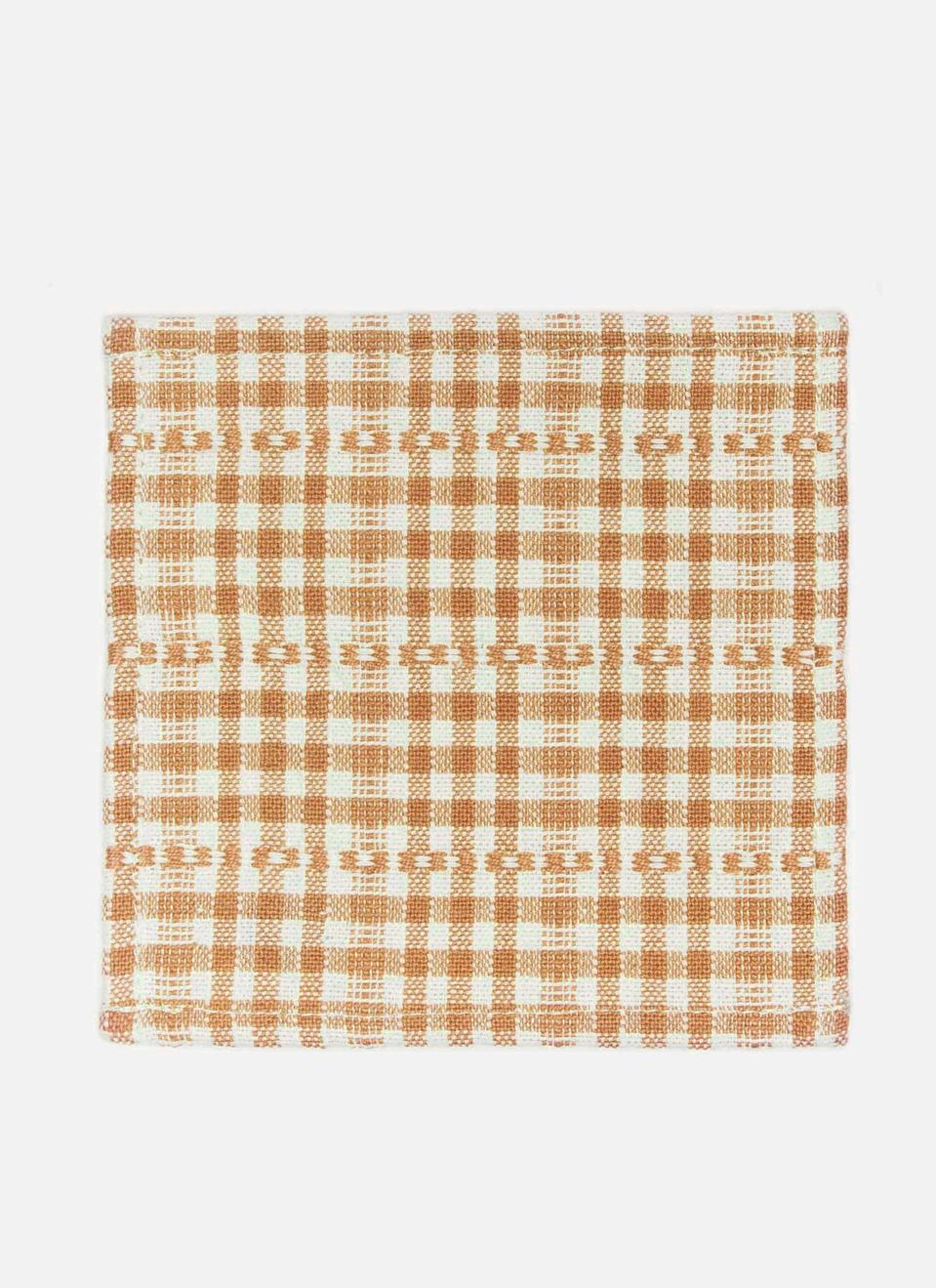 """<p><strong>Heather Taylor Home</strong></p><p>heathertaylorhome.com</p><p><strong>$18.00</strong></p><p><a href=""""https://heathertaylorhome.com/shop/soho-goldenrod-cocktail-napkins/"""" rel=""""nofollow noopener"""" target=""""_blank"""" data-ylk=""""slk:Discover"""" class=""""link rapid-noclick-resp"""">Discover</a></p><p><a href=""""https://heathertaylorhome.com/"""" rel=""""nofollow noopener"""" target=""""_blank"""" data-ylk=""""slk:Heather Taylor Home"""" class=""""link rapid-noclick-resp"""">Heather Taylor Home</a> offers a variety of cocktail napkins, like these handwoven of cotton in Mexico.</p>"""