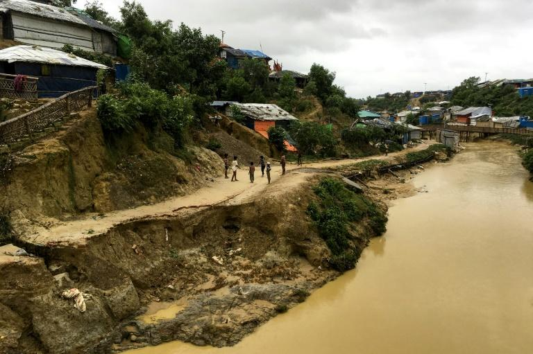 About 35 centimetres (14 inches) of rain fell in 72 hours before the landslides started