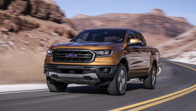 The 2019 Ford Ranger pickup. Source: Ford