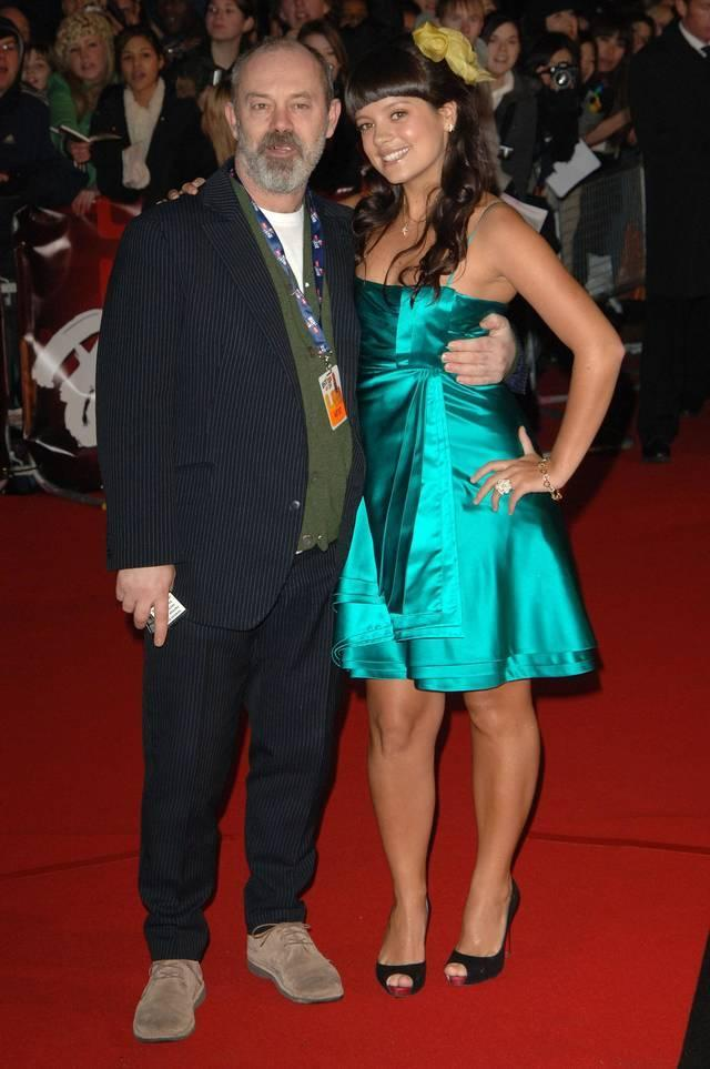 Keith and Lily Allen (Credit: WENN)