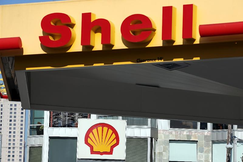 "A spokesman for Dutch energy giant Shell says the company ""absolutely"" still supports carbon pricing (AFP Photo/Justin Sullivan)"