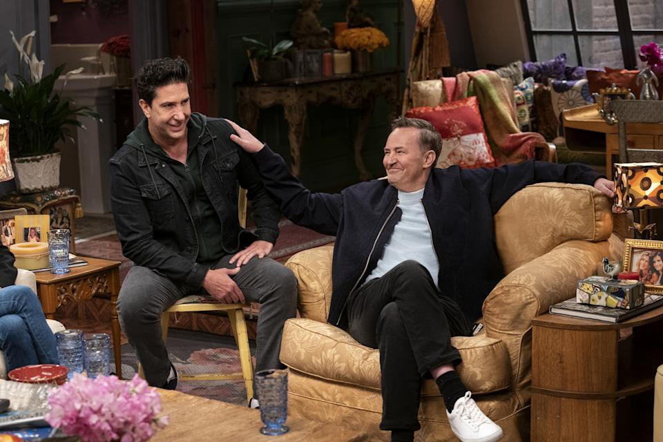 Friends: The Reunion. (PHOTO: HBO Max)