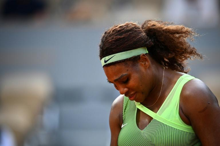 Serena Williams' wait for a record-tying 24th Grand Slam singles title continues after her French Open last 16 exit
