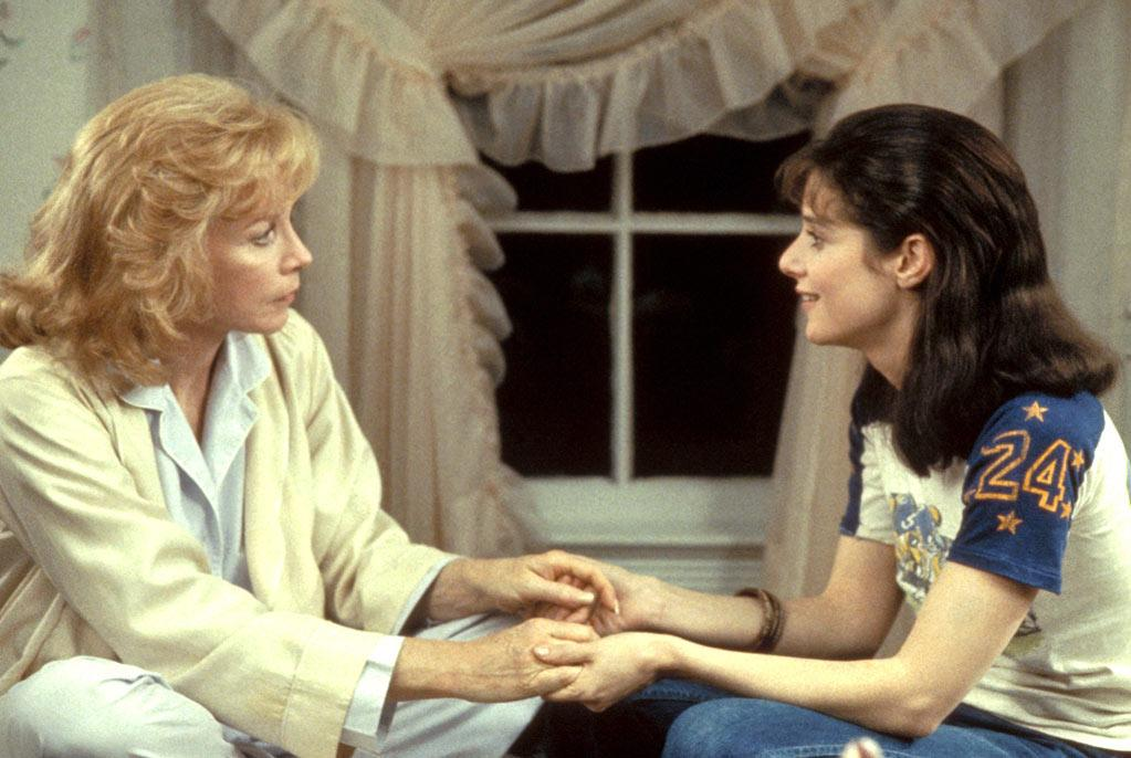 """Terms of Endearment"" (1983, James L. Brooks): ""I've seen it three or four times, but the first time I loved how it was one of the first films that really changed in tone, blended humor and pathos in an intense way on both sides. James L. Brooks was at the top of his game."