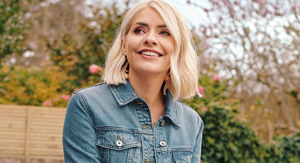 Holly Willoughby is relieved to be able to enjoy the summer as lockdown restrictions ease - and there's one dress in particular she is loving now.  (Marks and Spencer)