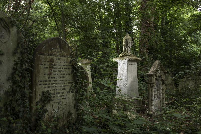 LONDON, ENGLAND - JUNE 11: The grave of Joanna Vassa on June 11, 2020 in London, England. Joanna Vassa, who died in 1857, was the daughter of Gustavus Vassa, who was also known as Olaudah Equiano, one of England's most important black abolitionist. Abney Park Cemetery is a non-denominational cemetery in Stoke Newington, North London, and is home to several key figures, who were instrumental in or with link too, the abolition of slavery. Many missionaries who were active during the abolitionist movement to end the slave trade, are buried at Abney Park Cemetery. (Photo by Dan Kitwood/Getty Images)