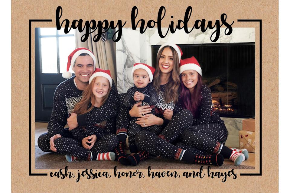 Celebrity Family Holiday Cards 2018