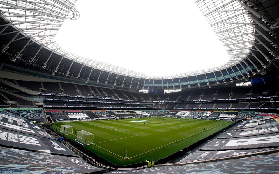 The Tottenham Hotspur Stadium will host the meeting between Jose Mourinho's side and his former club - PA