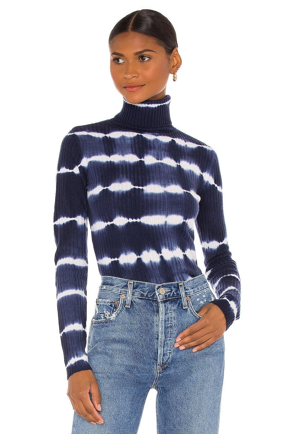 <p>This <span>Autumn Cashmere Tie Dye Ribbed Turtleneck</span> ($330) looks dreamy.</p>