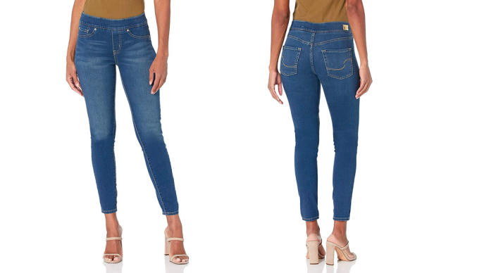 Signature by Levi Strauss & Co. Gold Label Women's Totally Shaping Pull-on Skinny Jeans (Photo: Amazon)