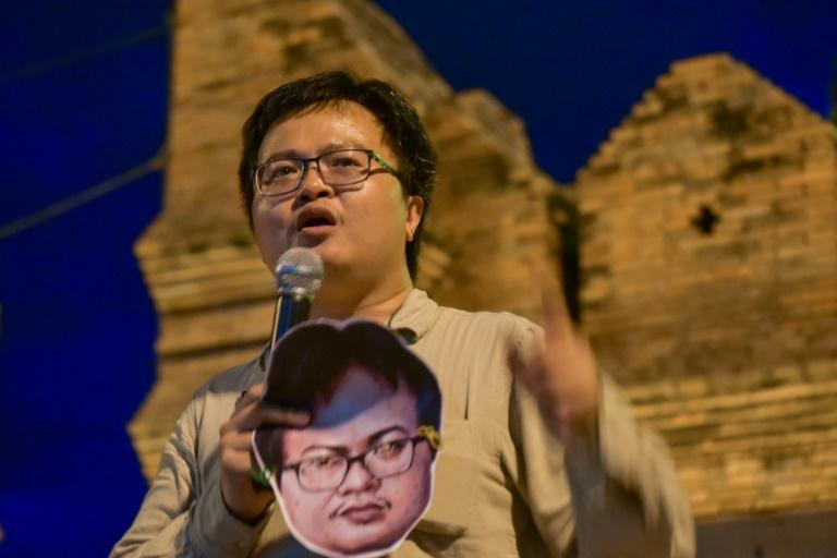 Thai activist joins protest following sedition charges