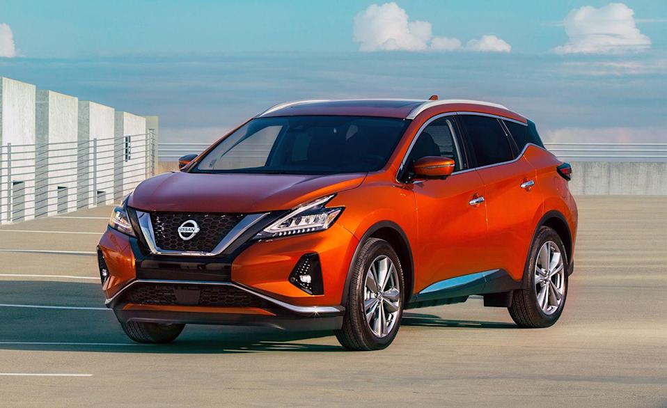 """<p>Several SUVs in Nissans lineup received a restyling or debuted a completely new generation model. The <a href=""""http://caranddriver.com/nissan/rogue"""" rel=""""nofollow noopener"""" target=""""_blank"""" data-ylk=""""slk:Nissan Rogue"""" class=""""link rapid-noclick-resp"""">Nissan Rogue</a>, <a href=""""https://www.caranddriver.com/nissan/rogue-sport"""" rel=""""nofollow noopener"""" target=""""_blank"""" data-ylk=""""slk:Rogue Sport"""" class=""""link rapid-noclick-resp"""">Rogue Sport</a>, <a href=""""https://www.caranddriver.com/nissan/armada"""" rel=""""nofollow noopener"""" target=""""_blank"""" data-ylk=""""slk:Armada"""" class=""""link rapid-noclick-resp"""">Armada</a>, <a href=""""https://www.caranddriver.com/nissan/pathfinder"""" rel=""""nofollow noopener"""" target=""""_blank"""" data-ylk=""""slk:Pathfinder"""" class=""""link rapid-noclick-resp"""">Pathfinder</a>, <a href=""""https://www.caranddriver.com/nissan/kicks"""" rel=""""nofollow noopener"""" target=""""_blank"""" data-ylk=""""slk:Kicks"""" class=""""link rapid-noclick-resp"""">Kicks</a>, hell, even the 16-year old <a href=""""https://www.caranddriver.com/nissan/frontier"""" rel=""""nofollow noopener"""" target=""""_blank"""" data-ylk=""""slk:Frontier"""" class=""""link rapid-noclick-resp"""">Frontier</a> pickup finally got some attention. Not the <a href=""""https://www.caranddriver.com/nissan/murano"""" rel=""""nofollow noopener"""" target=""""_blank"""" data-ylk=""""slk:Murano"""" class=""""link rapid-noclick-resp"""">Murano</a>. Although it looks like the same ole mid-size SUV, Nissan did make its optional Safety Shield 360 driver's assistance package standard across trims for 2021. That means every Murano now includes automated emergency braking with pedestrian detection, rear automated emergency braking, blind-spot monitoring, lane-departure warning, and automatic high-beams, among others. It was recently added as an IIHS Top Safety Pick+ and given a five-star rating from the NHTSA.</p><p><a class=""""link rapid-noclick-resp"""" href=""""https://www.caranddriver.com/nissan/murano"""" rel=""""nofollow noopener"""" target=""""_blank"""" data-ylk=""""slk:MORE MURANO INFO"""">MORE MURANO INFO</a></p>"""