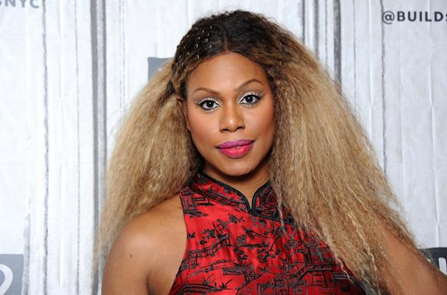 Laverne Cox visited the Build Series on Feb. 27. (Photo: Desiree Navarro/WireImage)