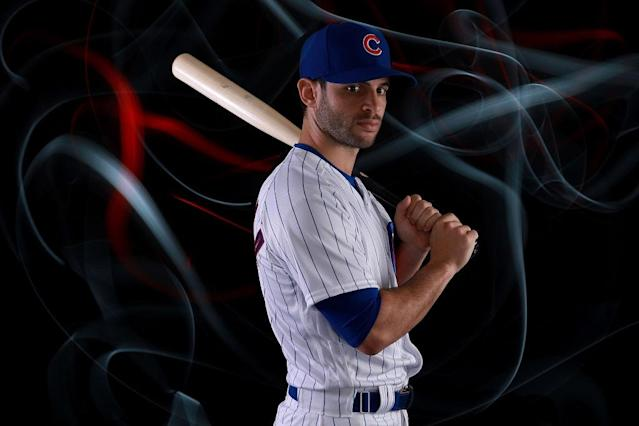 Tommy La Stella cares not for your parking spaces. (Getty Images)