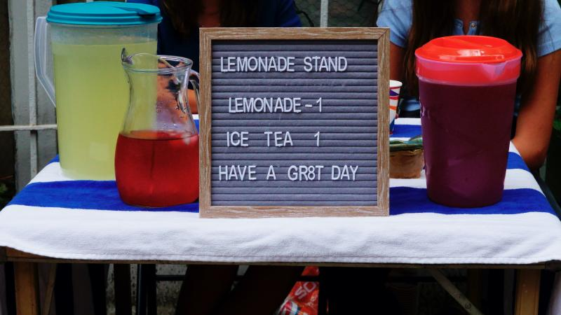 9-year-old Monica Allgood's lemonade stand is making waves in her community. (Getty Images)