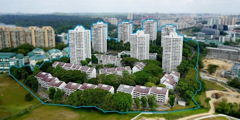 The former HUDC estate which sits on a huge site was put up for en bloc sale recently with a reserve price of $2.08 billion...