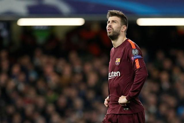 Barcelona's Gerard Pique has escaped punishment for shushing Espanyol supporters after scoring in a local derby earlier this month and taunting the club before the game.